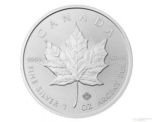 1 oz New Canadian Maple Leaf Silver Coin