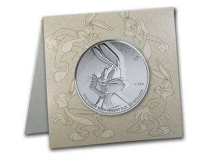 1/4 oz 2015 $20 for $20 Looney Tunes Bugs Bunny Silver Coin