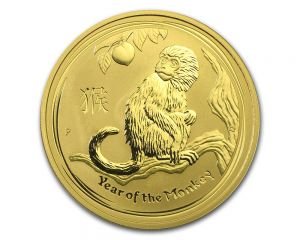 1 oz 2016 Perth Mint Year of the Monkey Gold Coin