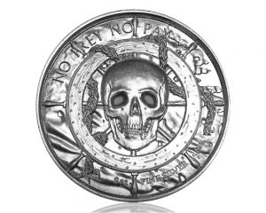 2 oz Privateer Collection: Siren Ultra High Relief Silver Round