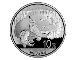 30 g 2016 Chinese Panda Silver Coin