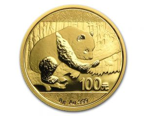8 g Chinese Panda Gold Coin